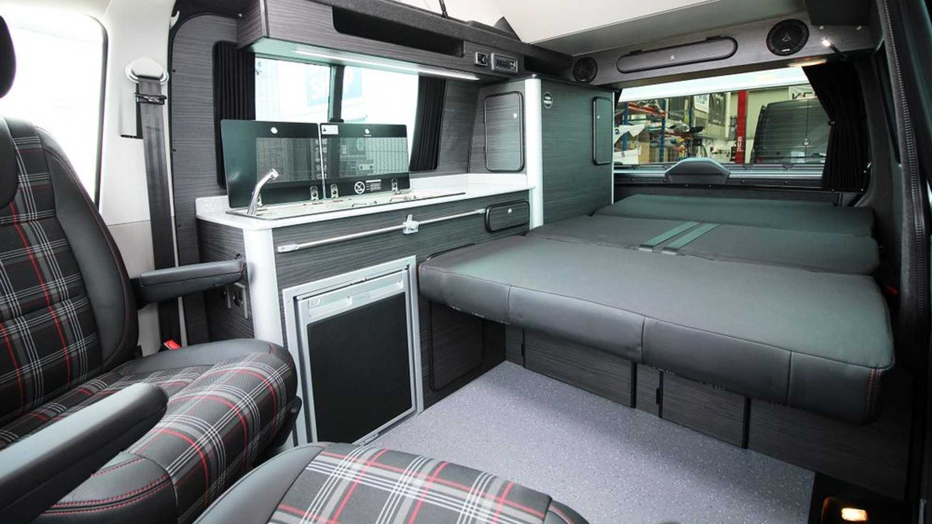 Vw Camper With Gti Inspired Tartan Seats Is On Our Want List