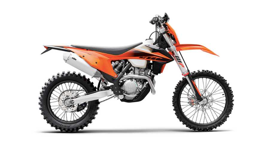 KTM Launches New 350 And 500 XCF-W Dirt Bikes For 2020