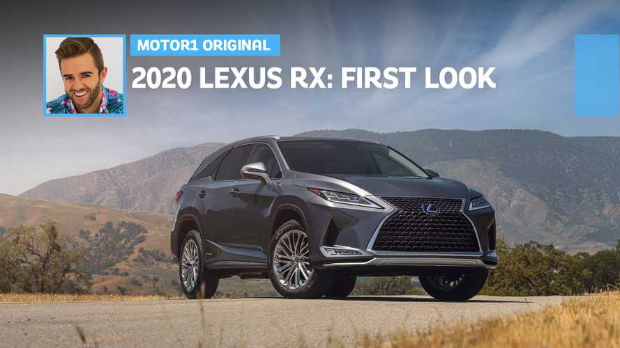 2020 Lexus RX Reveals Its Subtle Upgrades In First Look Video