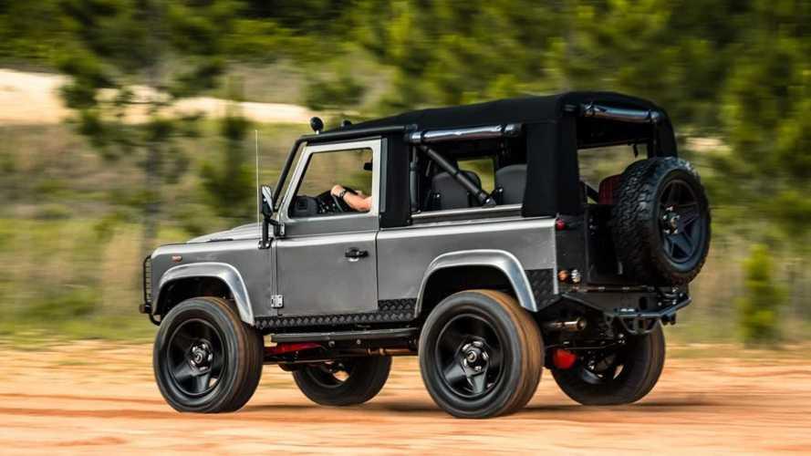 Project Desert Storm, el Land Rover Defender que todos queremos