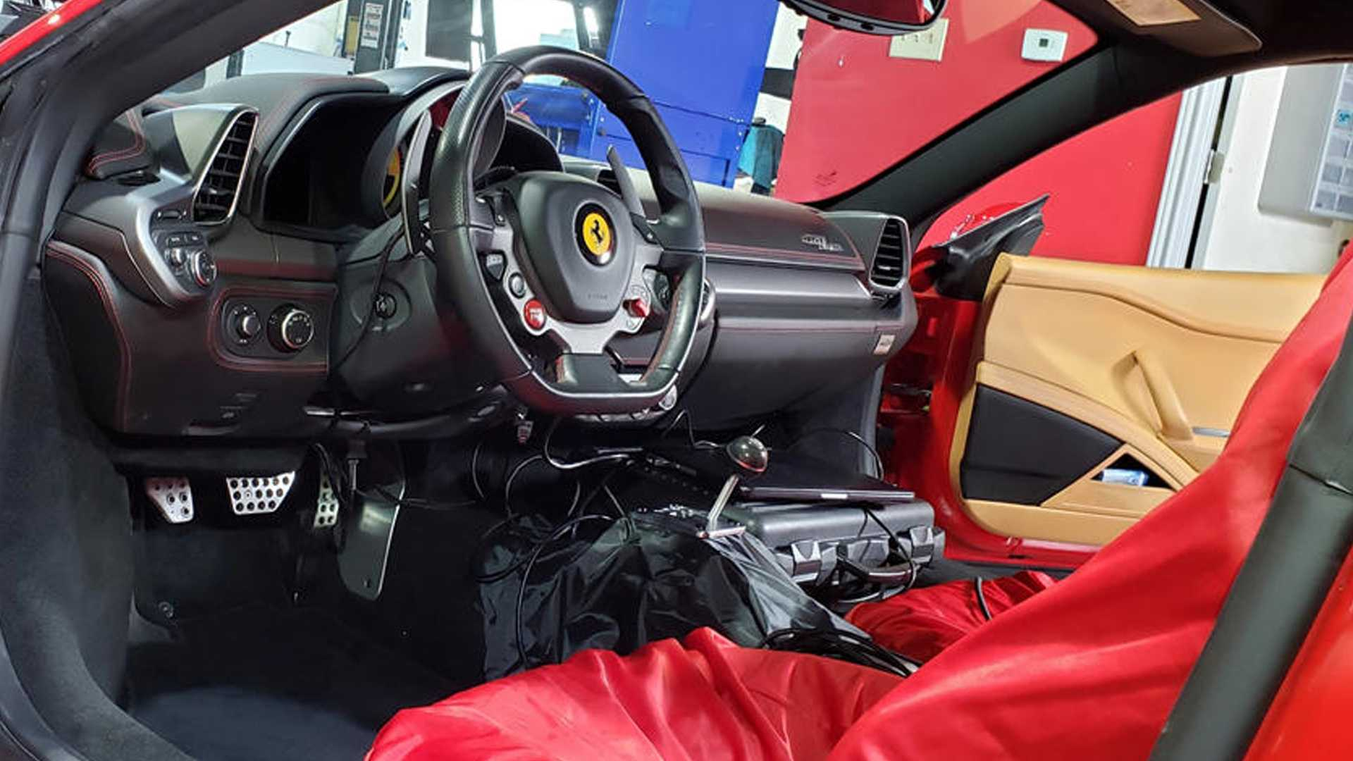 Ferrari 458 Italia Getting Gated Manual Thanks To Texas Tuner