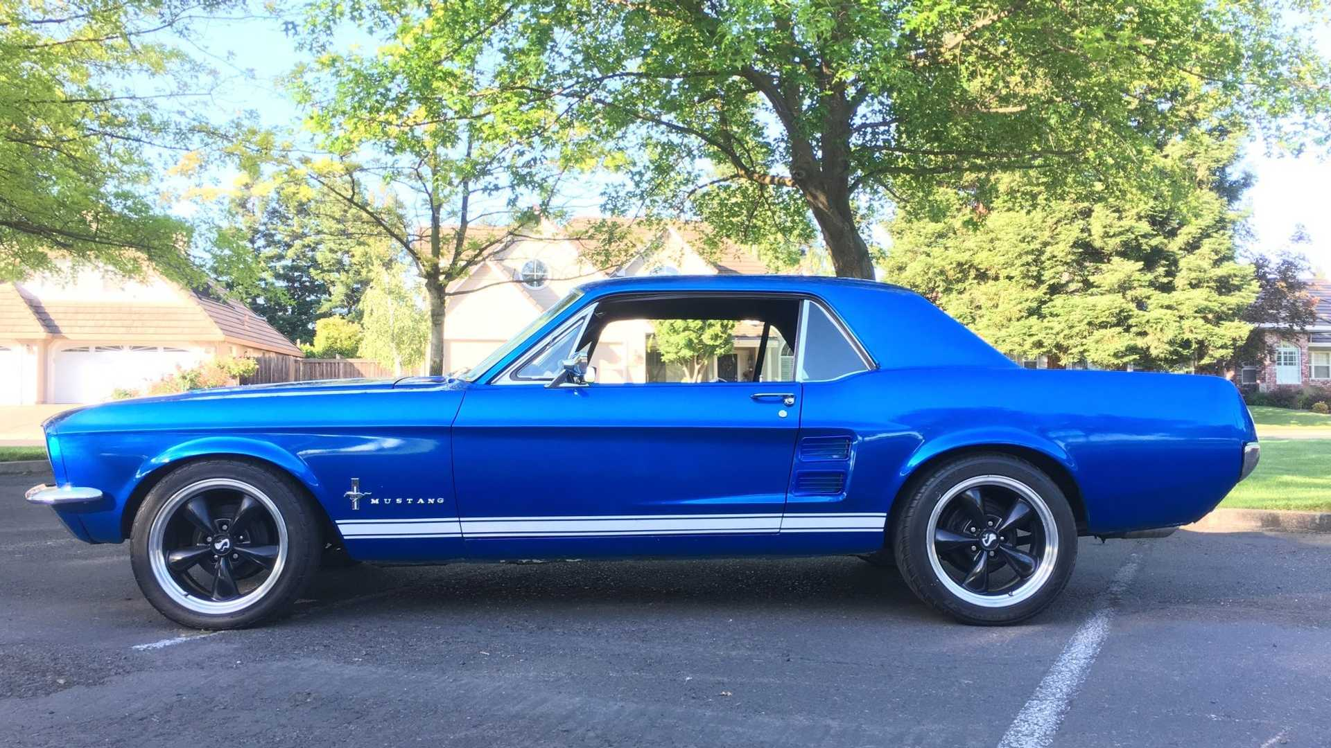 Handsome 1967 Restomod Mustang Is A Vision In Blue | Motorious