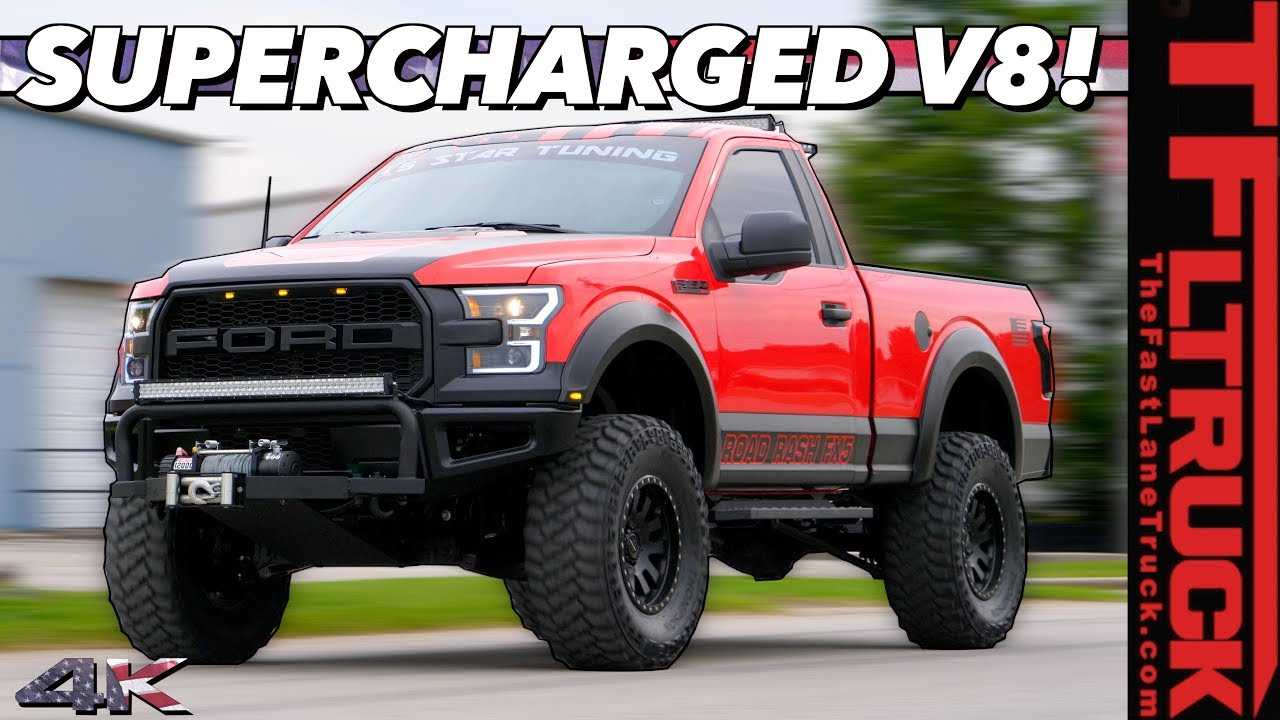 720 Hp Supercharged V8 F 150 Is The Two Door Raptor Ford