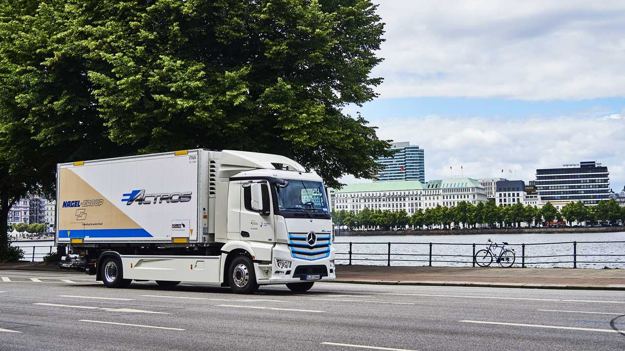 Mercedes-Benz eActros Nagel Group