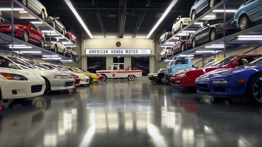 Honda Shows Off Peter Cunninghan's Car Collection