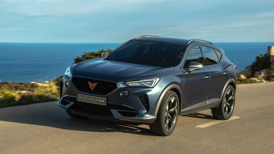 Cupra Formentor: First Dynamic Pictures
