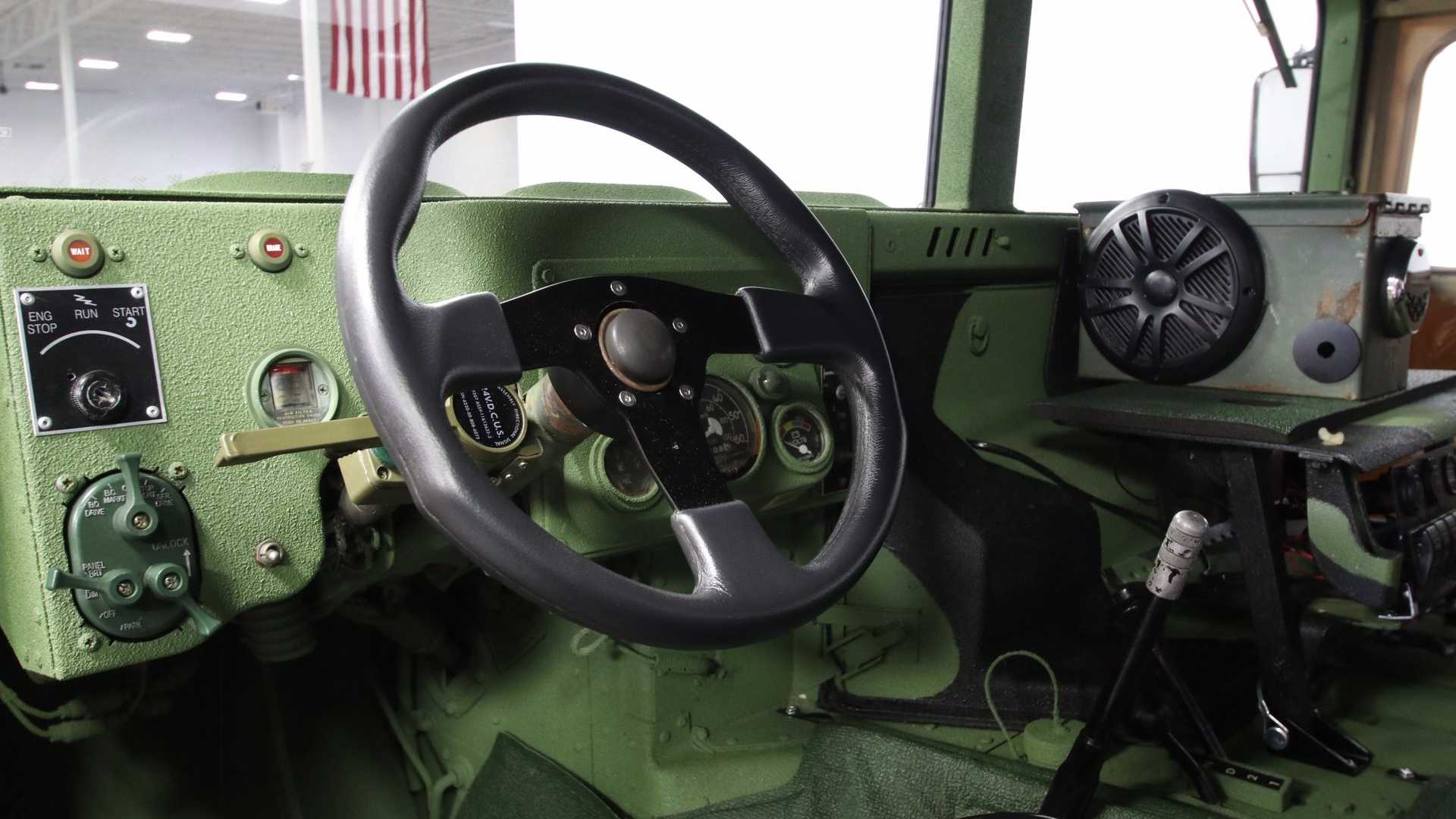 "[""1987 AM General M998 HMMWV Humvee Registered For Civilian Use""]"