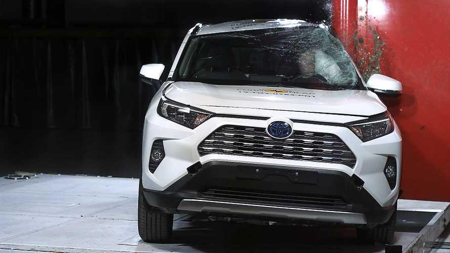 Toyota RAV4, Euro NCAP crash test