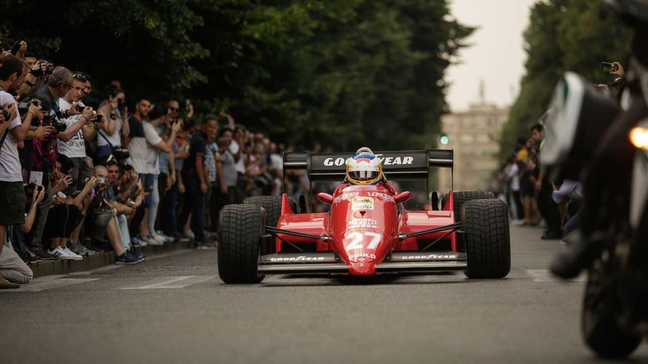 Lo spettacolo delle Formula 1 a Parco Valentino 2019