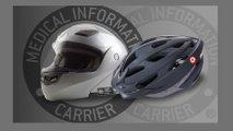lifesaver motorcycle helmet info tag