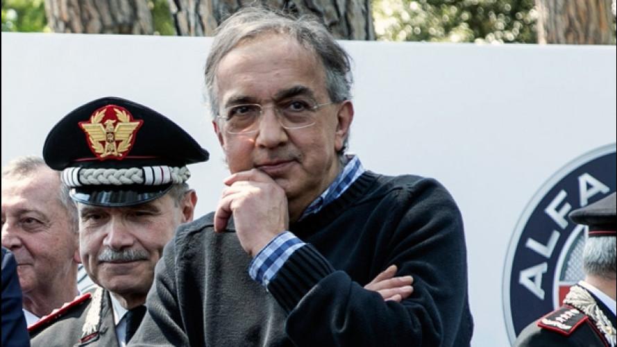Alfa Romeo Giulia Carabinieri ricorda a Marchionne la sua infanzia