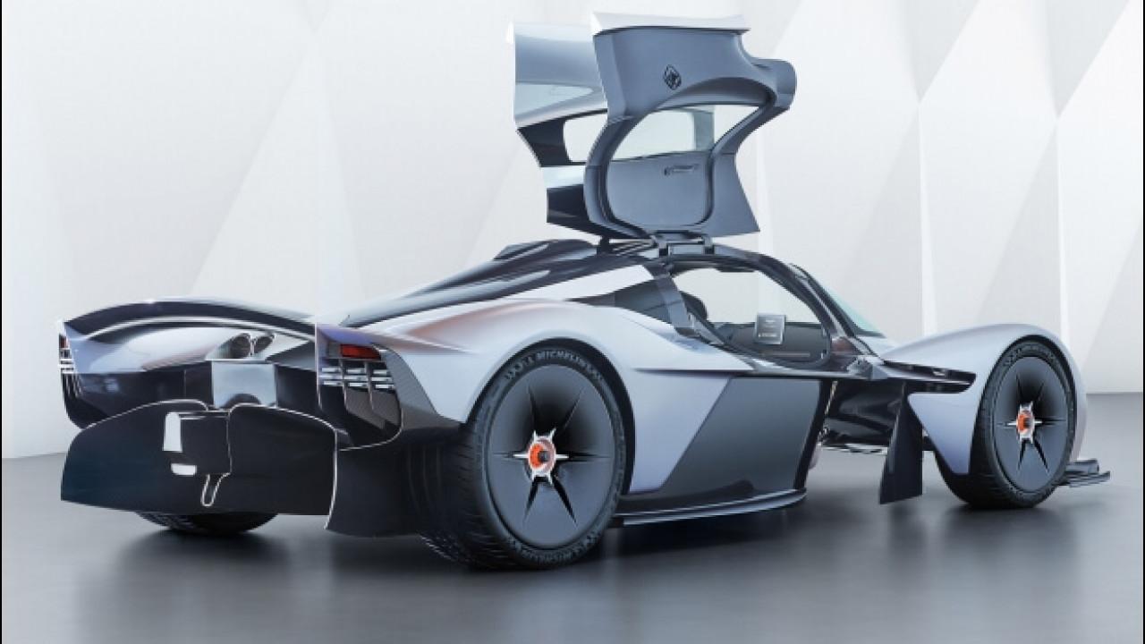 [Copertina] - Aston Martin Valkyrie, foto e segreti della F1 stradale ultraleggera