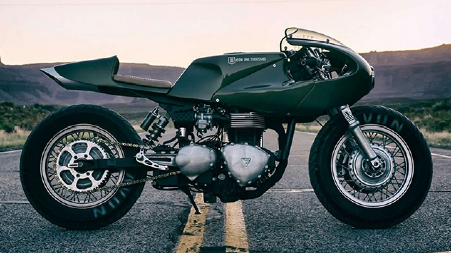 Triumph Thruxton by Icon 1000 [VIDEO]
