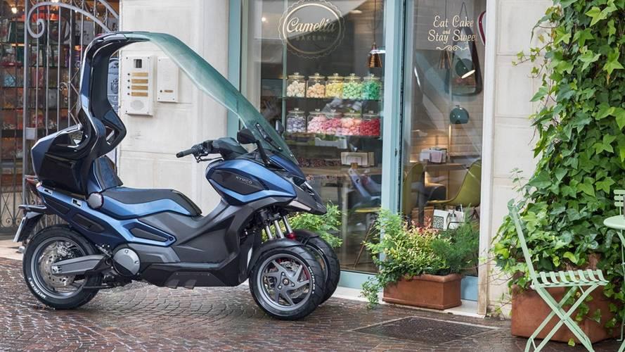 KYMCO presenta los concept Adventure Tourer, scooters de dos y tres ruedas