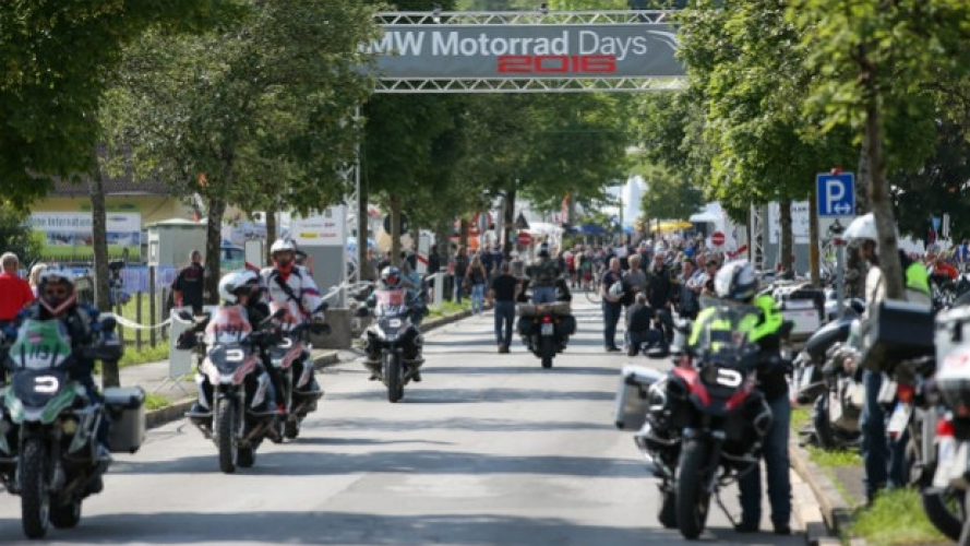 Coronavirus: BMW cancella i Motorrad Days 2020