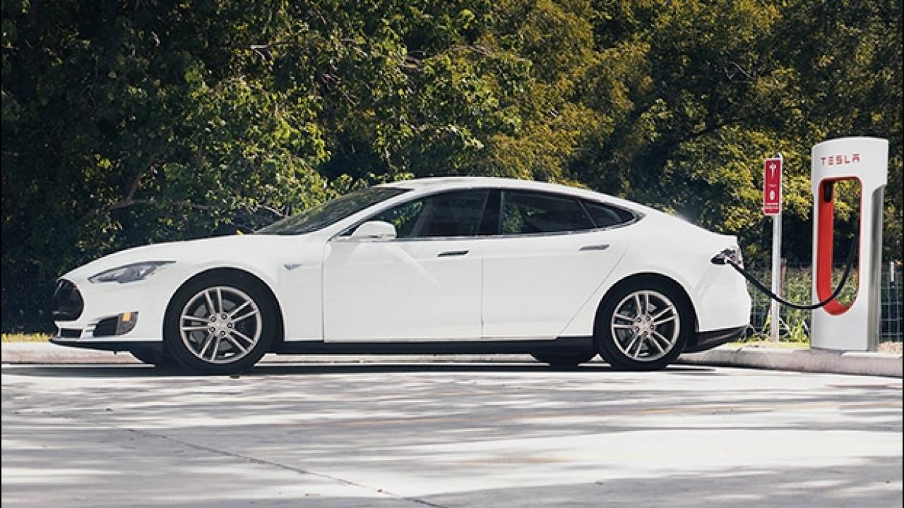 [Copertina] - Tesla apre un nuovo Supercharger a Magliano Sabina