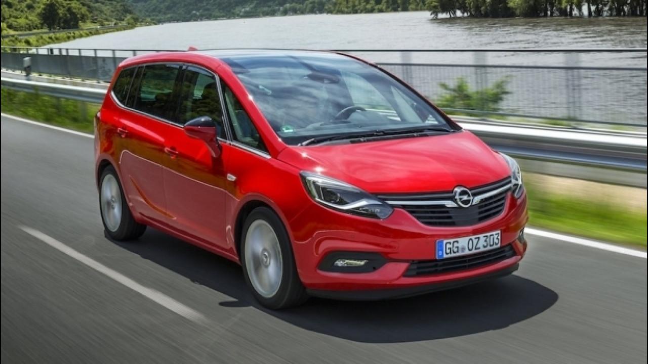 [Copertina] - Opel Zafira, hi-tech per sette