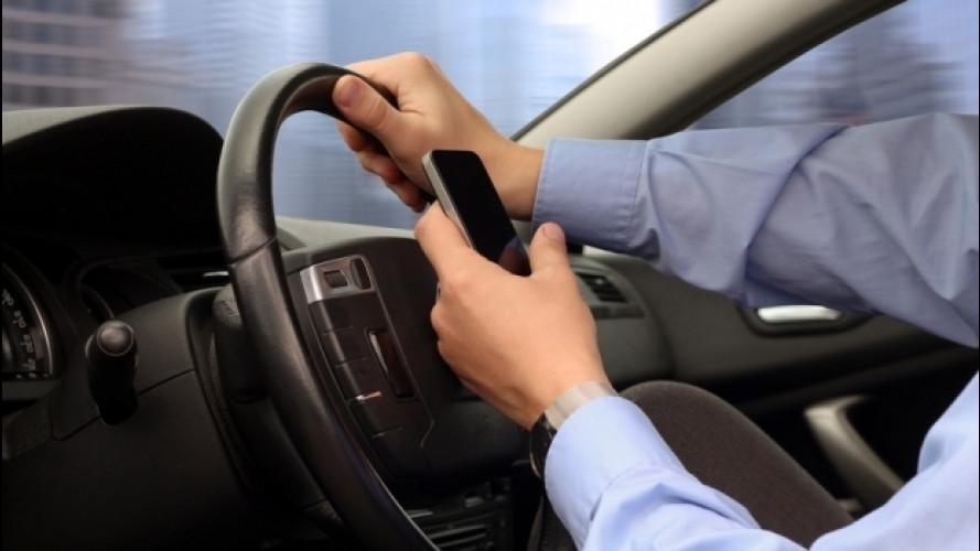 Flotte aziendali, è allarme distrazione da smartphone