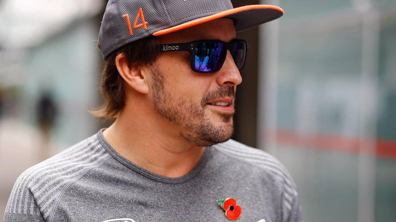 Fernando Alonso Kimoa McLaren