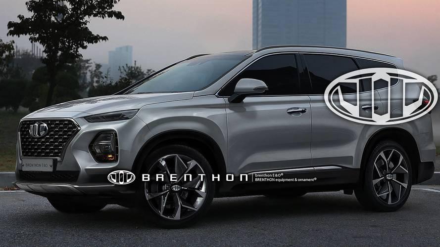 Nem kizárt, hogy így néz majd ki az új Hyundai Santa Fe