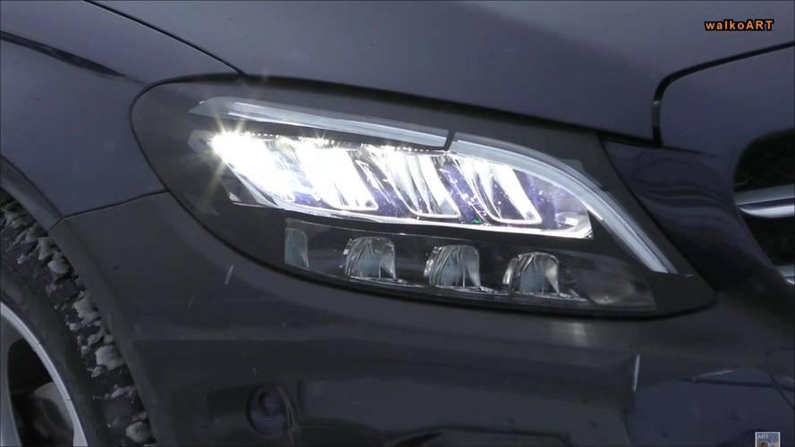2018 Mercedes C-Serisi Wagon ön farlar