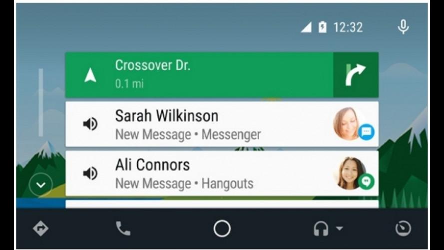 Android Auto, in arrivo quello già installato in macchina