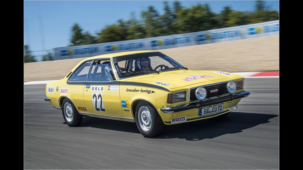 50 Jahre Opel Commodore