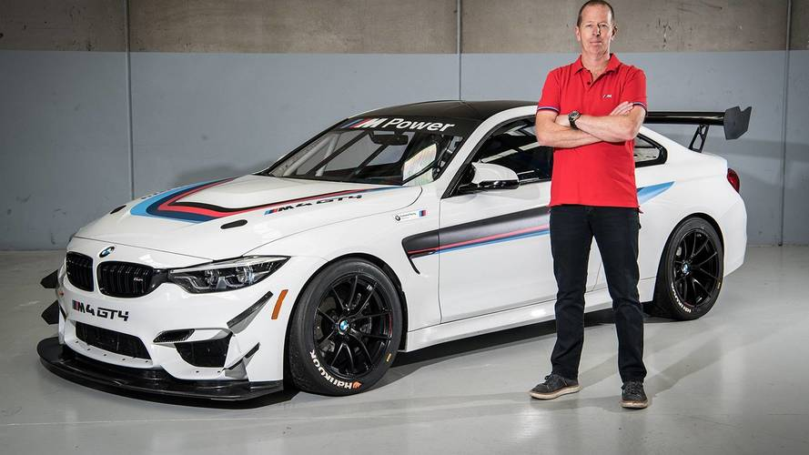 First BMW M4 GT4 Lands In Australia