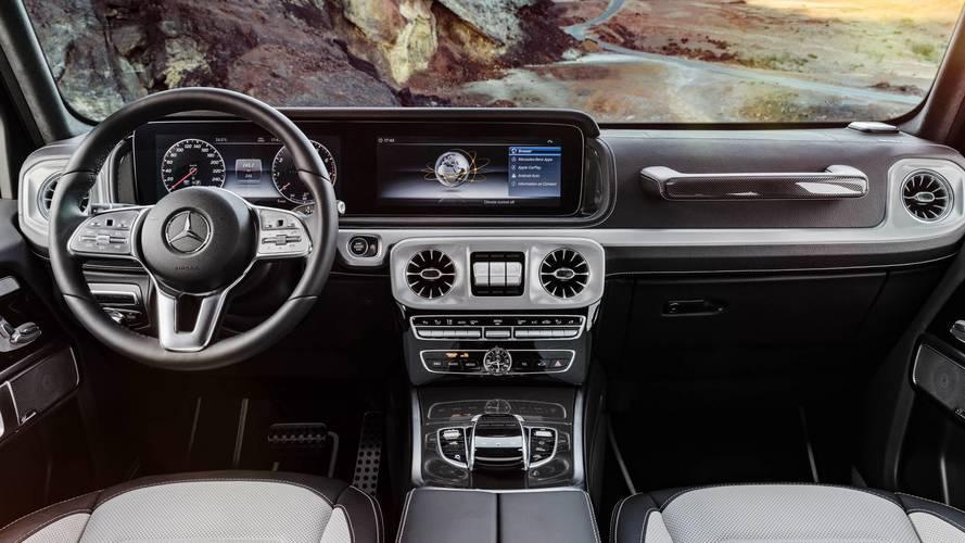 Bienvenue à bord du nouveau Mercedes Classe G !