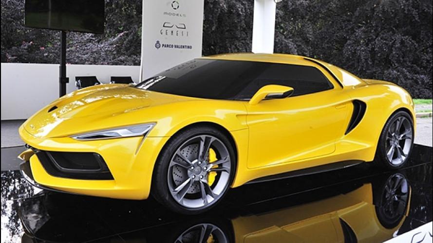 Model 5 Genesi, idee per una GT italiana
