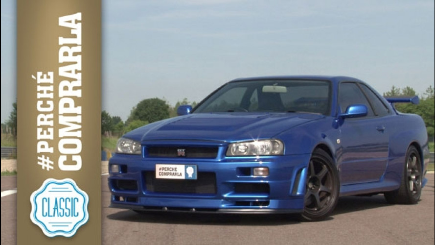Nissan GT-R 34 Skyline, perché comprarla... Classic [VIDEO]