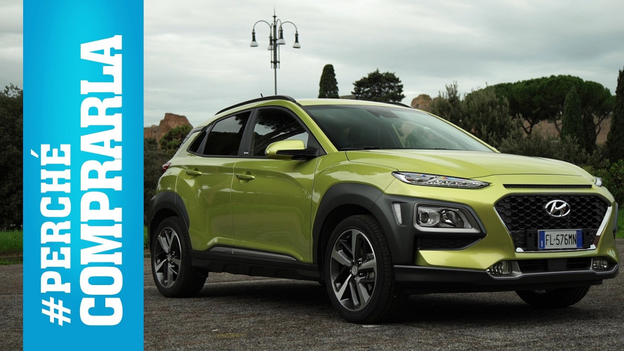 Hyundai Kona, perché comprarla… e perché no