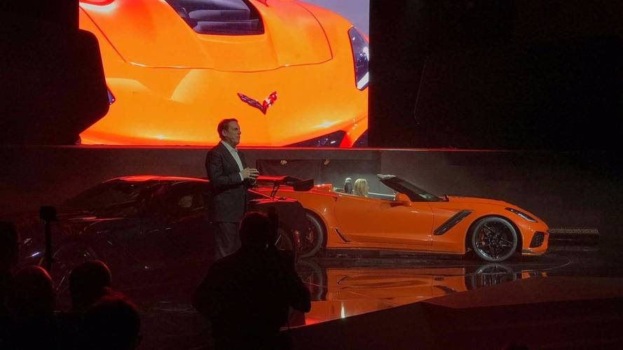 2018 Chevrolet Corvette ZR1 Convertible