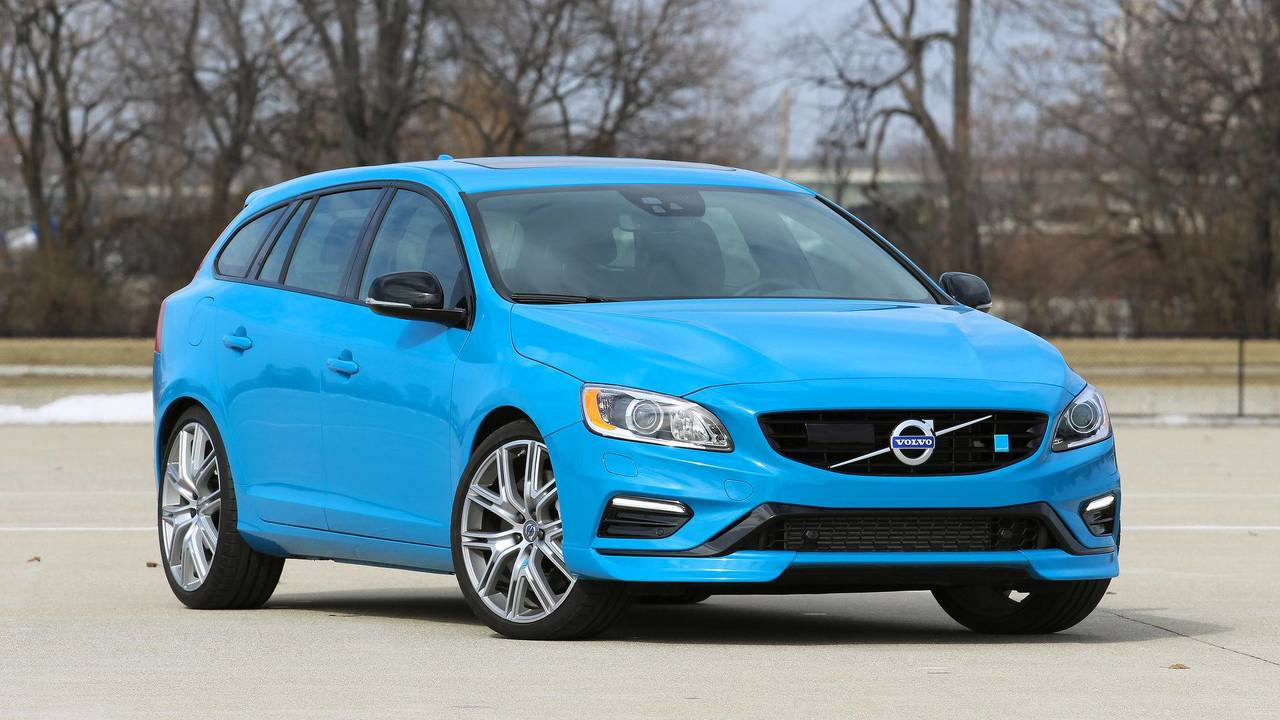 2. Volvo S60 / V60 Polestar: 2.0L turbocharged and supercharged I4, 362 hp, 347 lb-ft