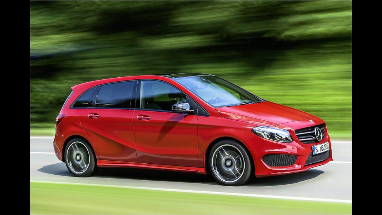 Die besten Autos bis 5 Jahre: Mercedes B-Klasse