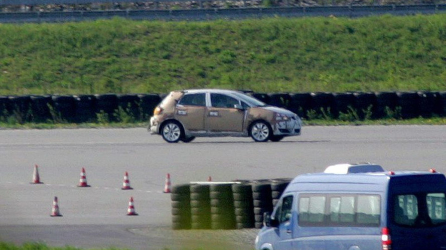 More Toyota Corolla Spy Photos