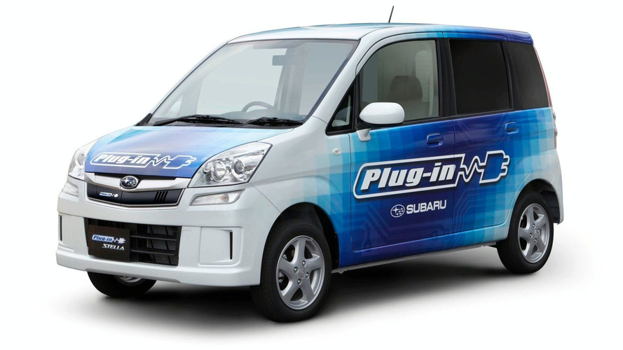 Subaru STELLA plug-in EV to launch in Japan
