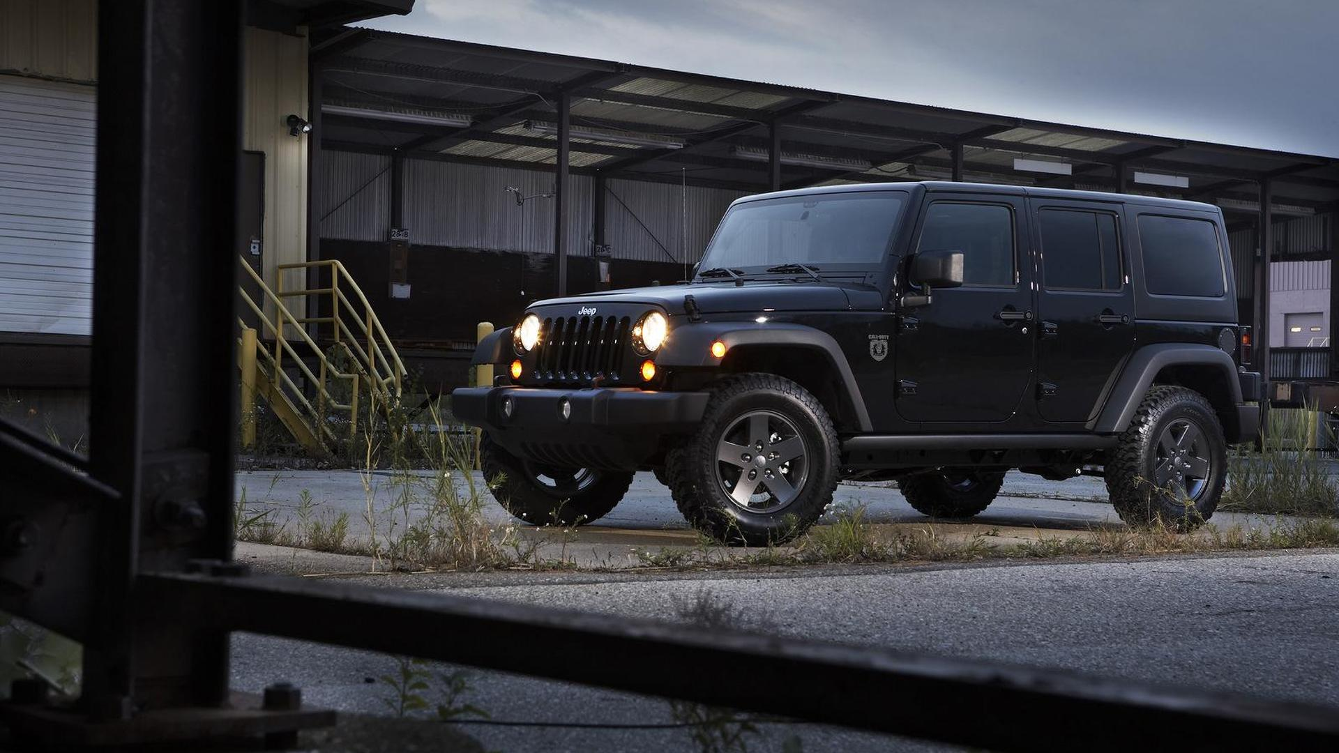 Jeep Unveils Wrangler Call Of Duty Black Ops Edition