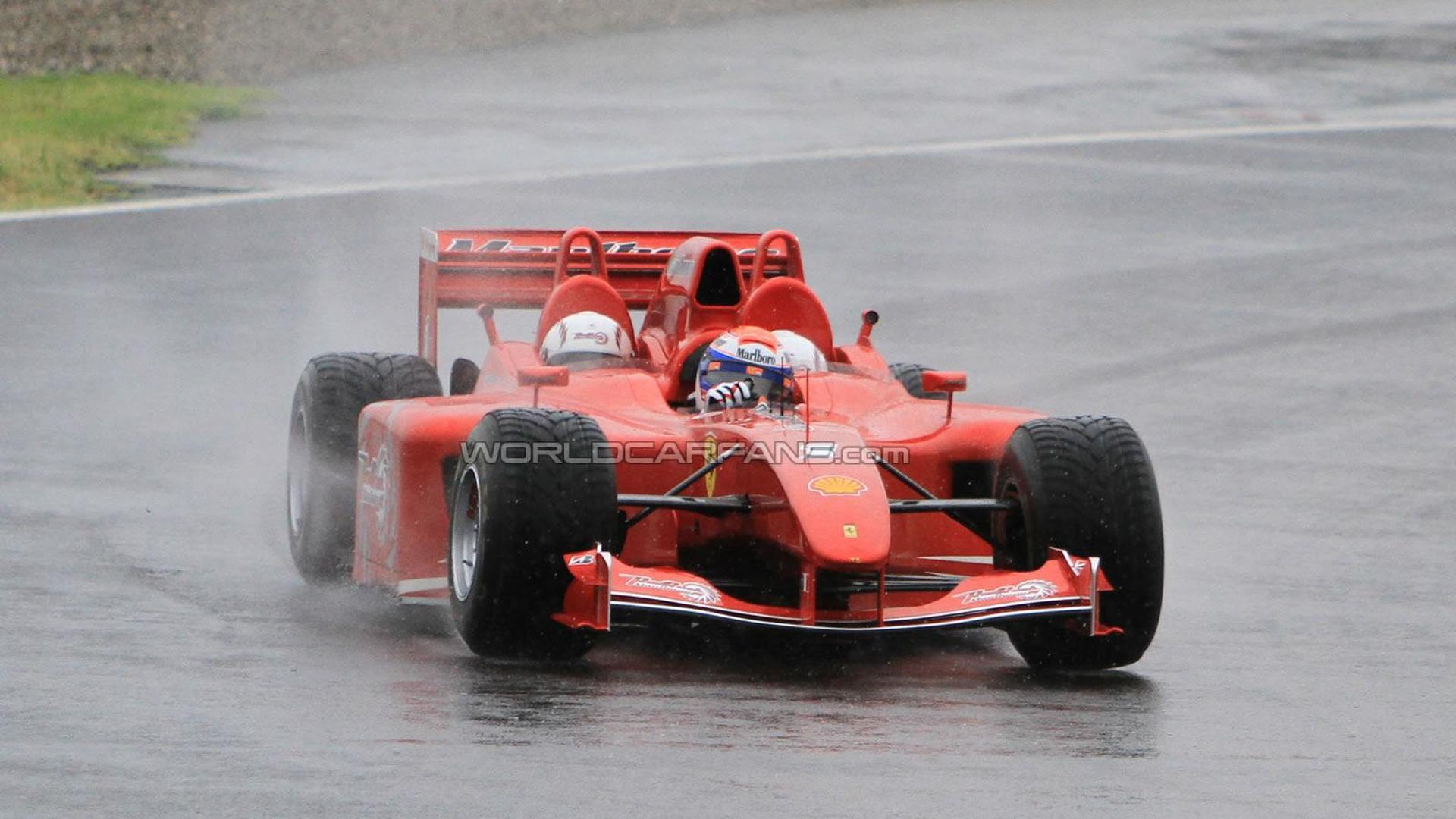 Ferrari F1 3 Seater Marlboro Red Rush Spied Testing In Fiorano