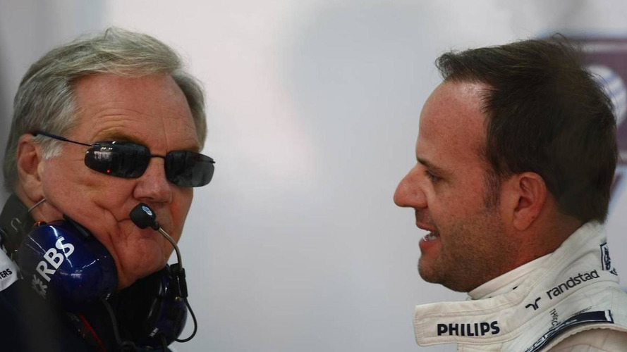 Patrick Head (GBR), WilliamsF1 Team, Director of Engineering and Rubens Barrichello (BRA), Williams F1 Team - Formula 1 World Championship, Rd 17, Korean Grand Prix, 23.10.2010 Yeongam, Korea