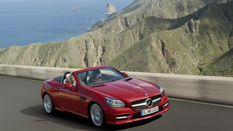 2018 Mercedes SLK to be offered with all-wheel drive and plug-in hybrid technology - report