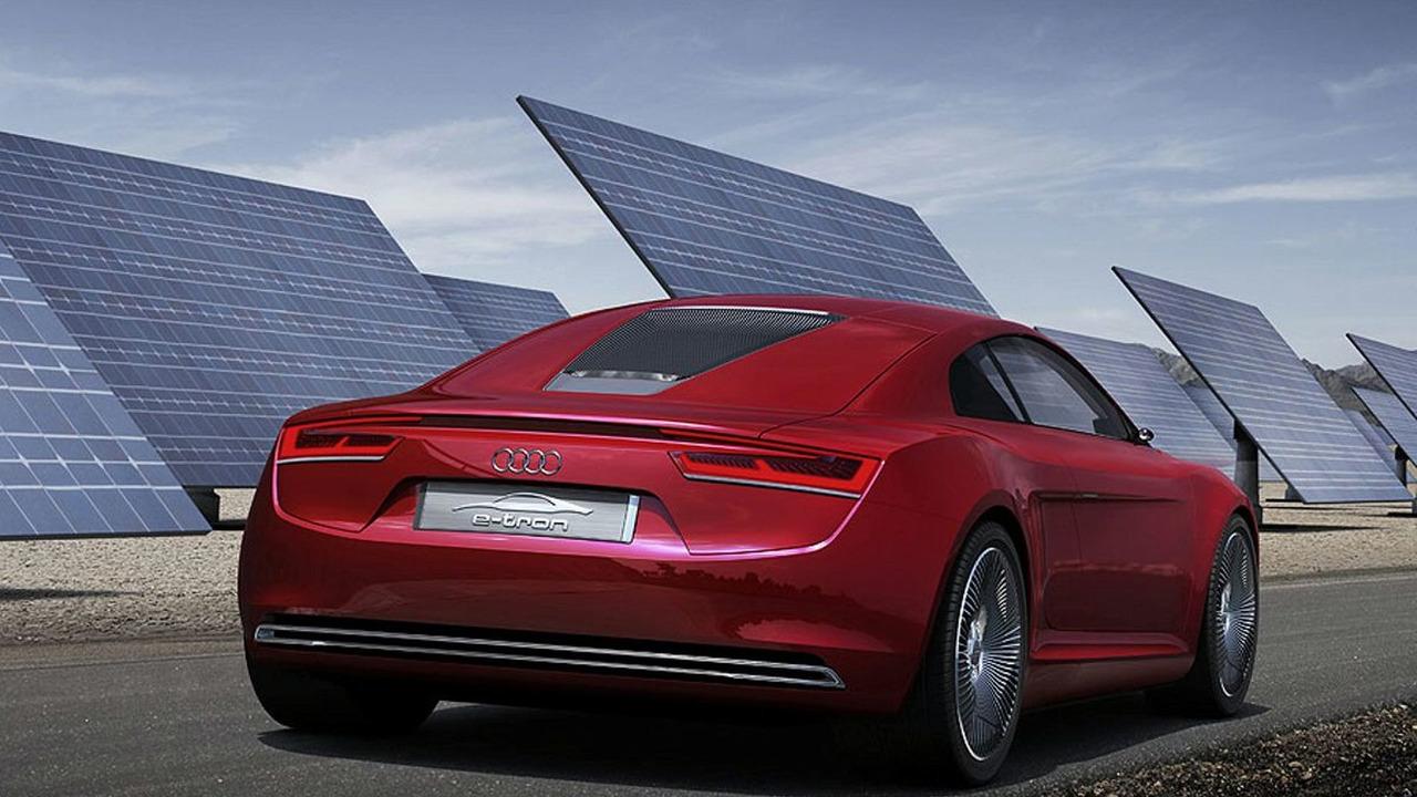 LEAKED Audi R ETron Concept Revealed - Audi r8 e tron