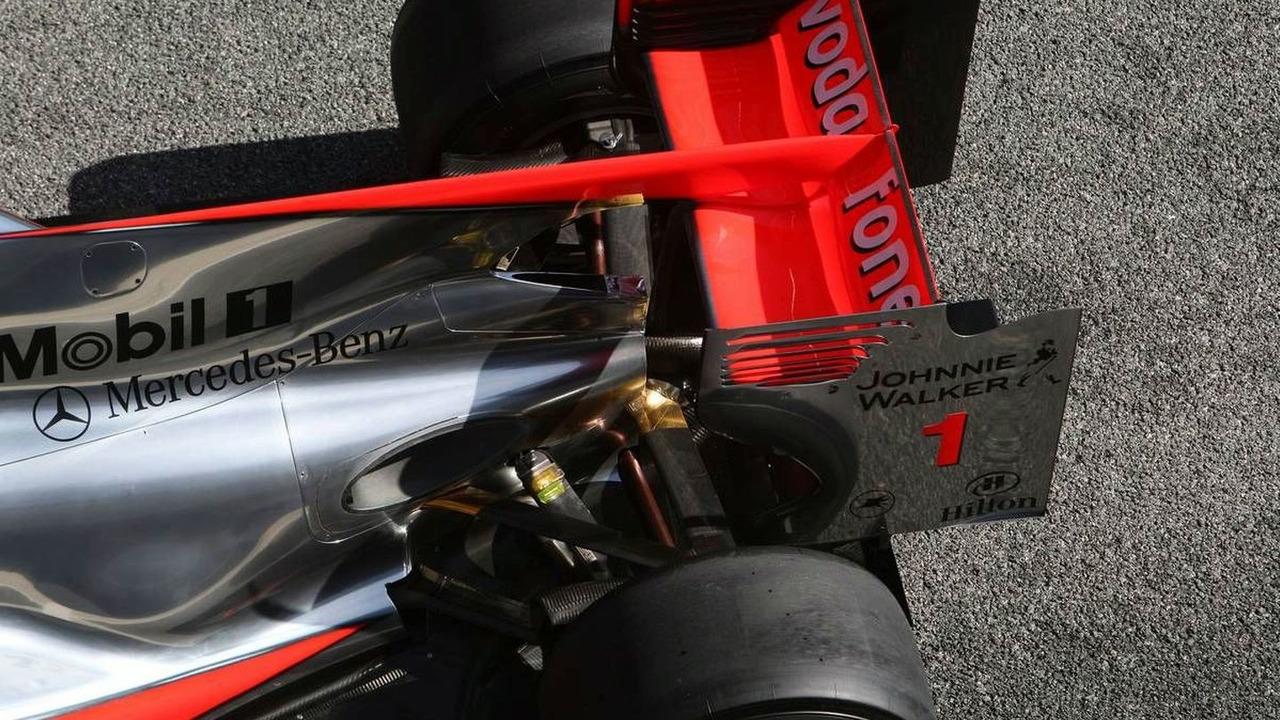 McLaren Mercedes, MP4-25, detail - Formula 1 Testing, 19.02.2010, Jerez, Spain
