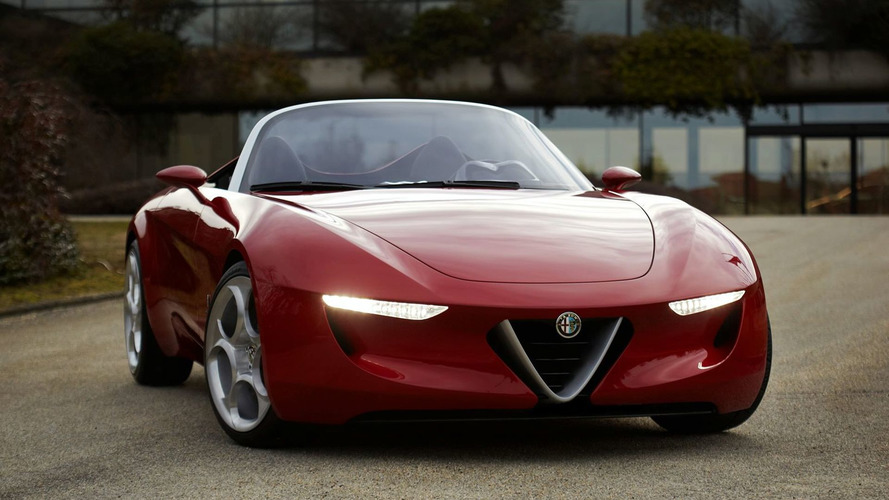 2013 Alfa Spider and 2012 Giulia sedan to be built on Chrysler RWD platform