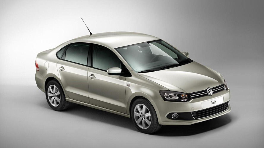 Volkswagen Polo V sedan revealed