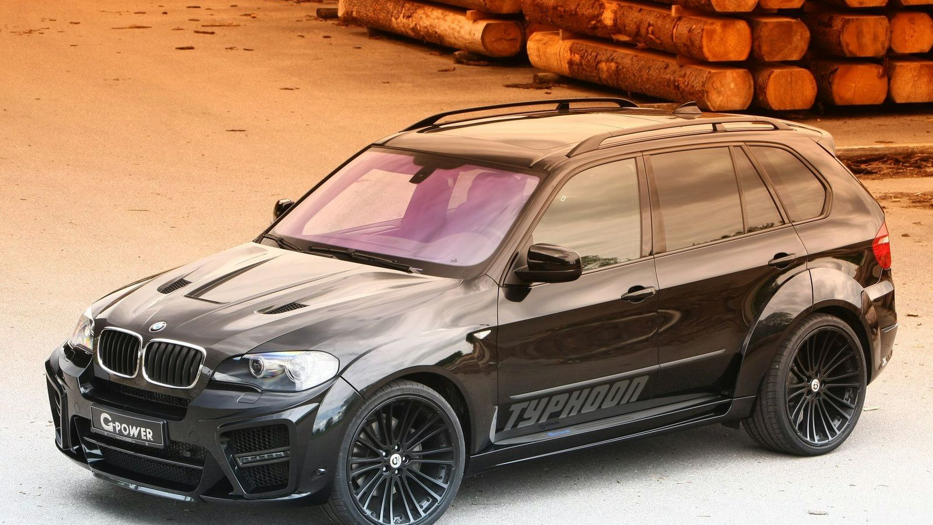 G Power Typhoon Black Pearl Based On Bmw X5 E70 With 625hp