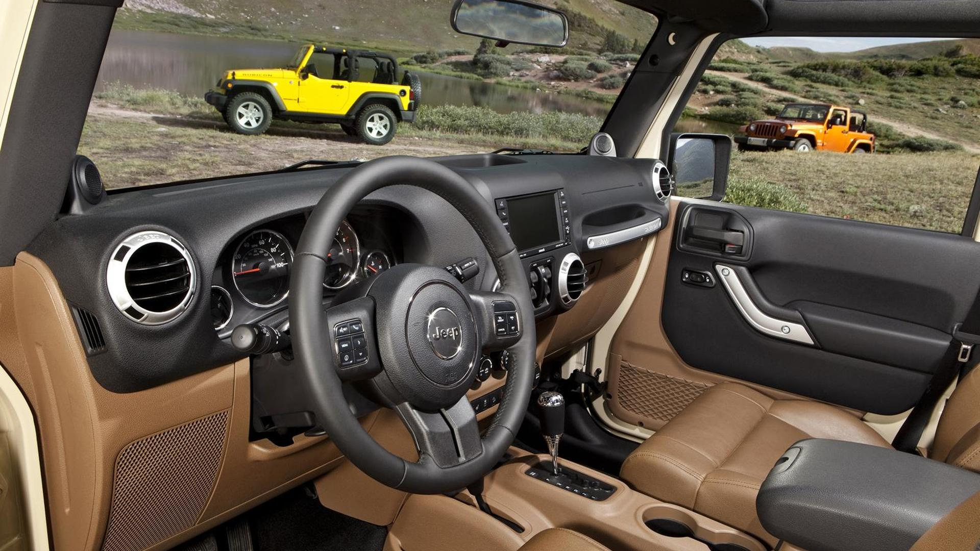 2011 jeep wrangler gets all new interior, body color hard top Custom Jeep Wrangler Unlimited Interior