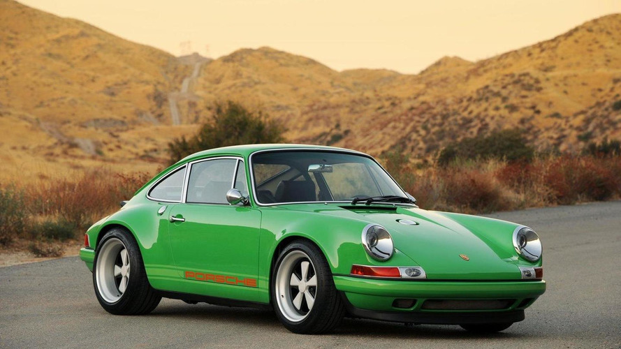 Classic Porsche 911 with modern technology by Singer Design