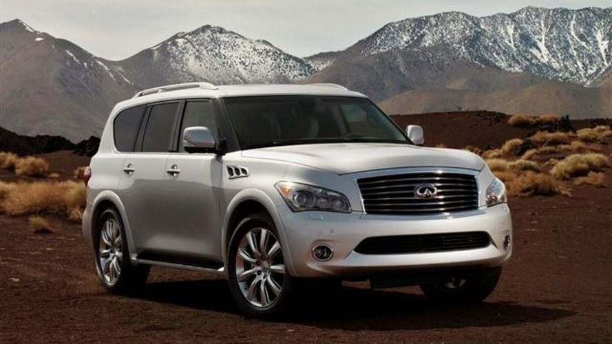 2011 Inifiniti QX56 Leaks Ahead of New York Debut