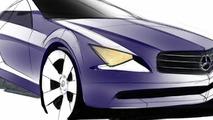 2008 Mercedes-Benz CLC Class design illustration - 1600 - 01.04.2010
